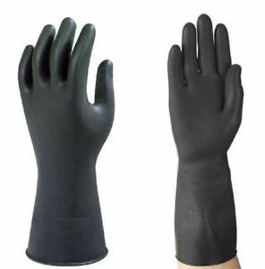 Ansell G17K heavy duty rubber gloves short