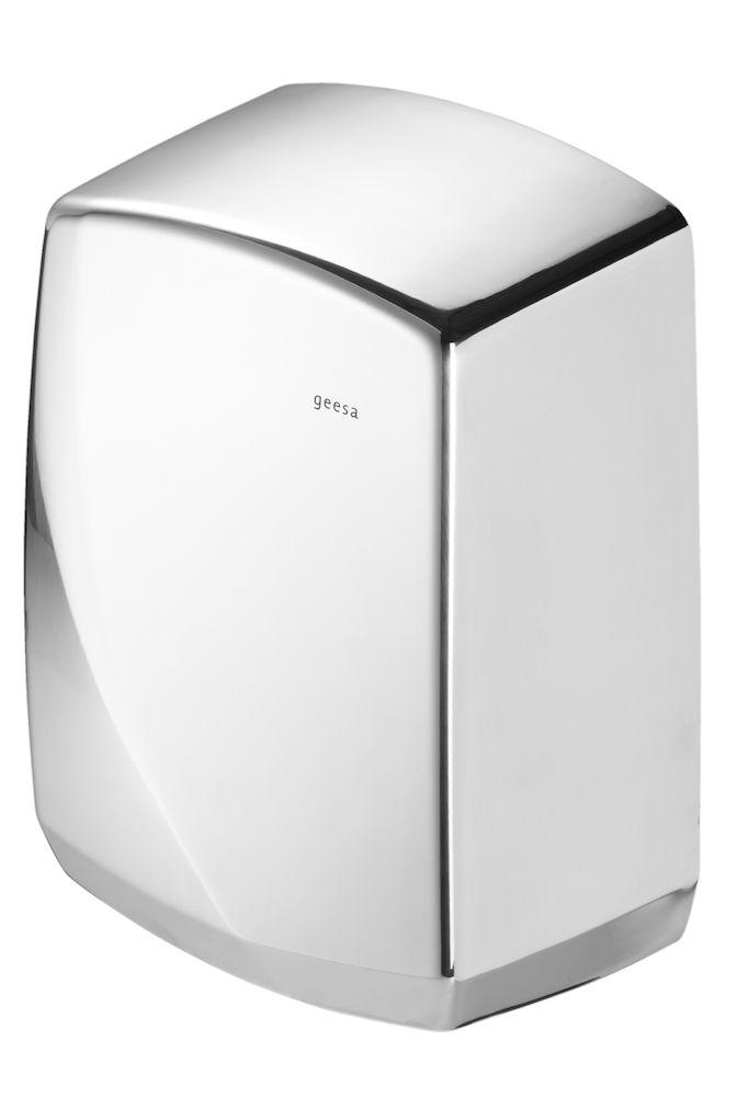 Hand dryer 2000 W, polished stainless steel
