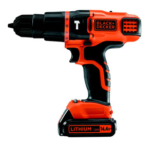 Black and Decker 14.4V Lithium-ion 2 Gear Cordless Hammer Drill