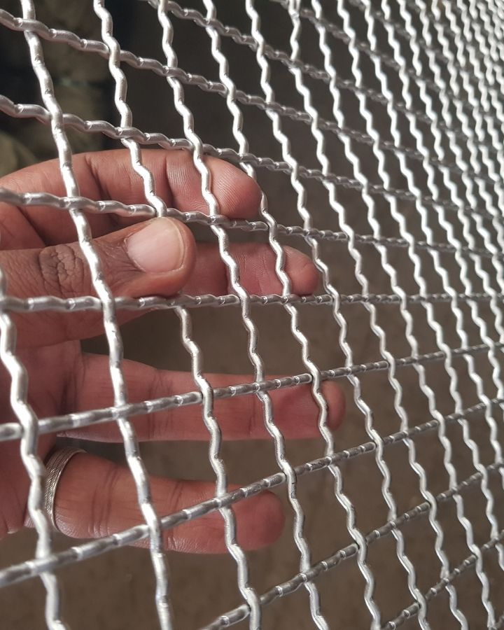 Galvanised Mesh 8ft by 4ft