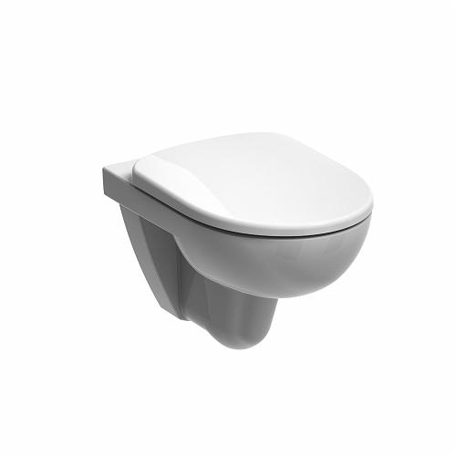 E11708WH - Twyford E100 round wall hung toilet pan, HO