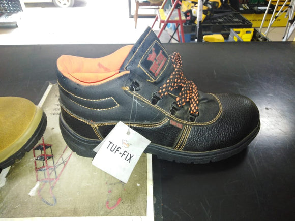Tuf-fix Safety shoes - Black high angle