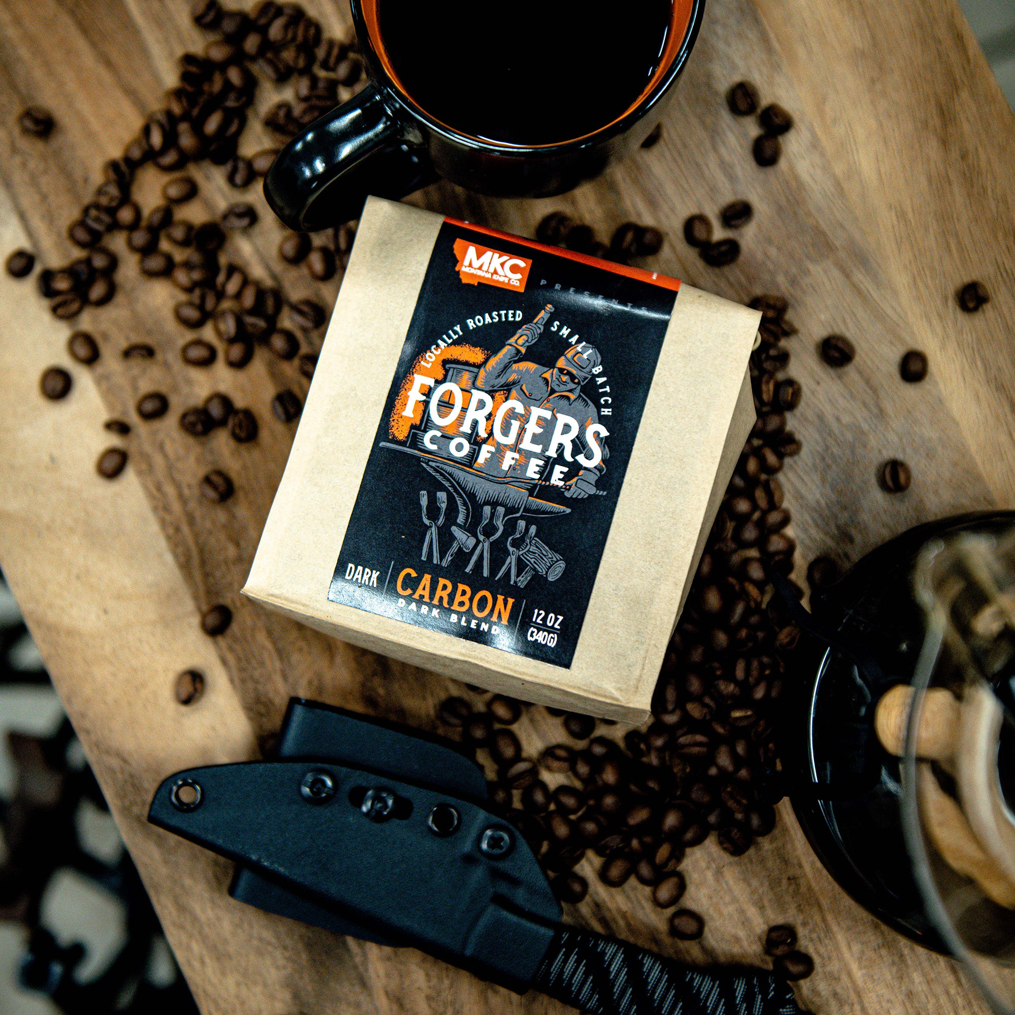 MKC FORGERS COFFEE- CARBON (DARK BLEND)