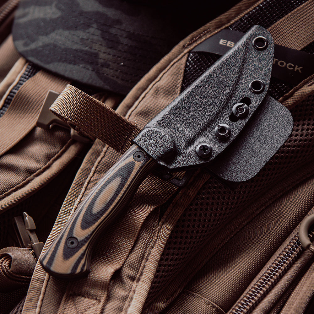 THE BLACKFOOT FIXED BLADE 2.0 - TAN AND BLACK
