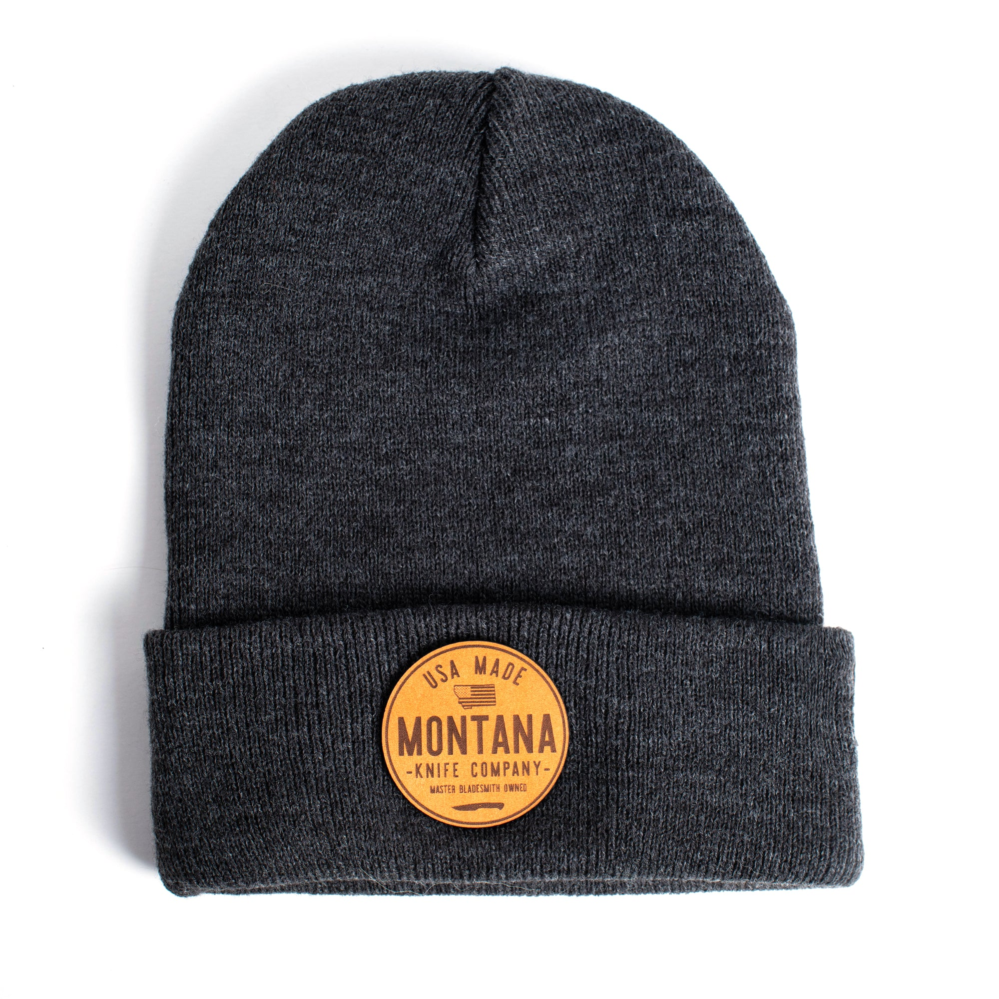 MONTANA KNIFE CO. CIRCLE PATCH - PREMIUM BEANIE