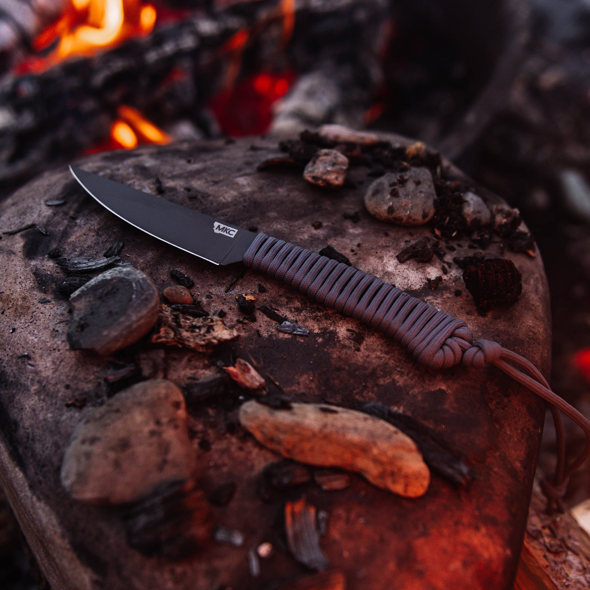 THE SPEEDGOAT FIXED BLADE - GUN METAL GREY