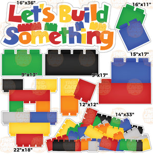 PICK 2 HALF SHEET - Lego Blocks