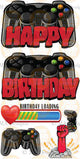 MA Gamer Double Controllers HBD- Black