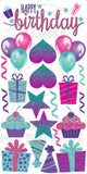 Pink/Purple/Teal HBD with Flair