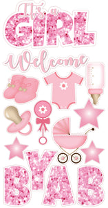 Pink Welcome Baby Girl