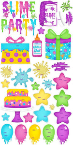 Slime Bright Party Set