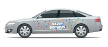 Load image into Gallery viewer, Happy Birthday Car Magnet