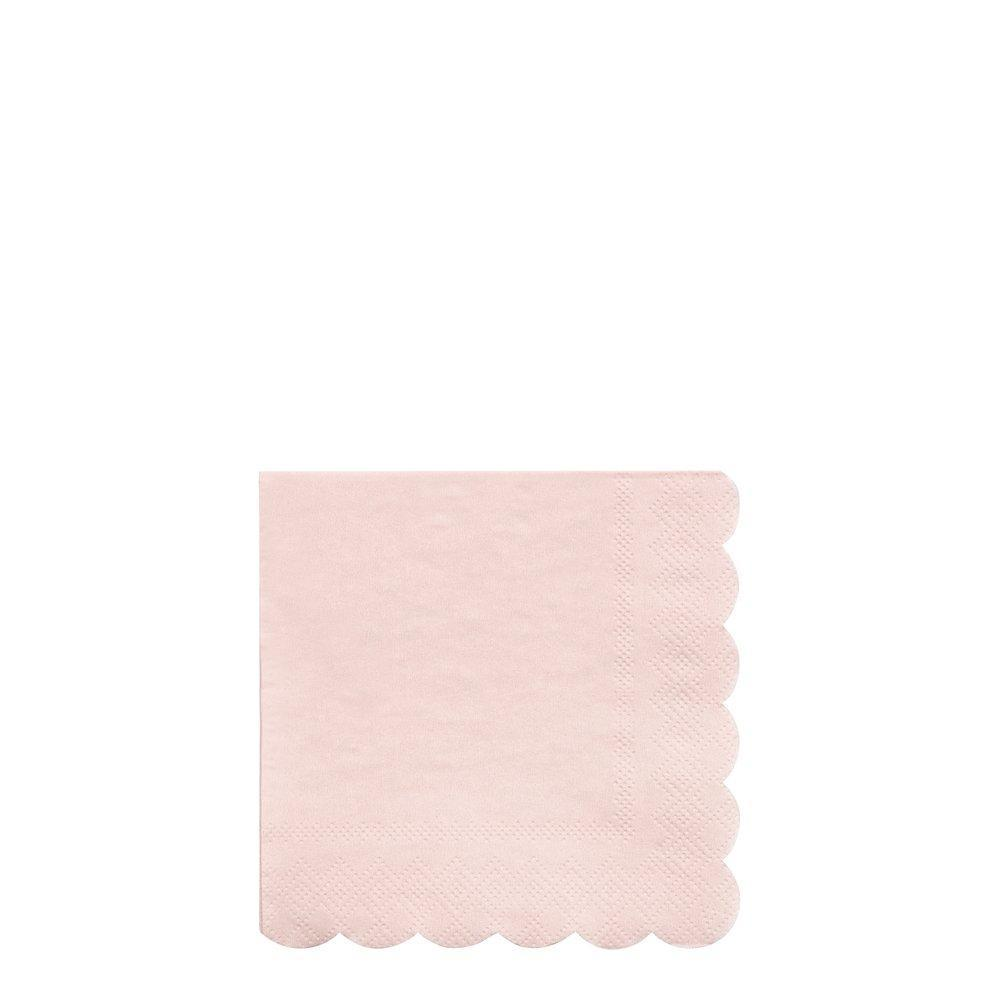 Dusky Pink Cocktail Napkin