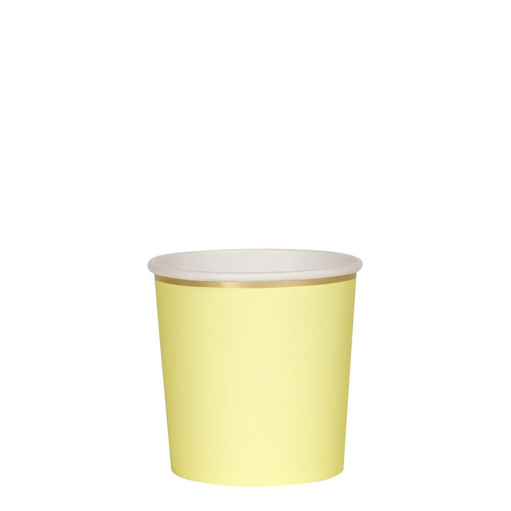 Pale Yellow Tumber Cups