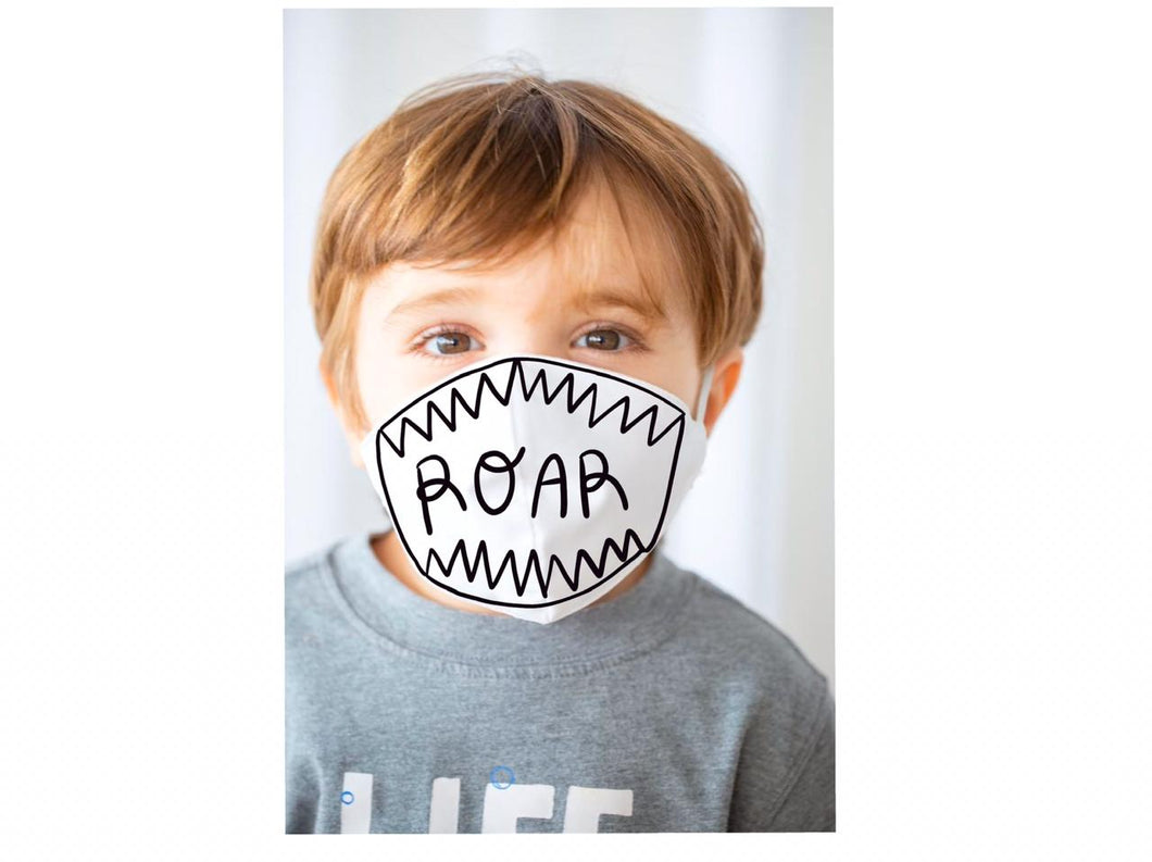 ROAR Toddler and Child Face Mask