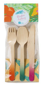 Tropical Fiesta Utensils