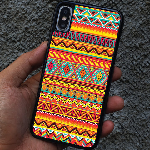 AZTECT TRIBAL PATTERN iPhone Case