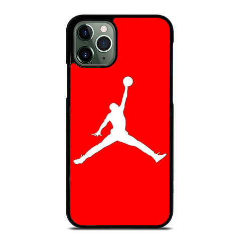 AIR JORDAN IN RED iPhone 11 Pro Max Case