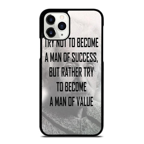 ALBERT EINSTEIN 'S QUOTE iPhone 11 Pro Case