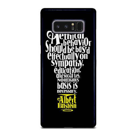 ALBERT EINSTEIN 'S THINKING Samsung Galaxy Note 8 Case