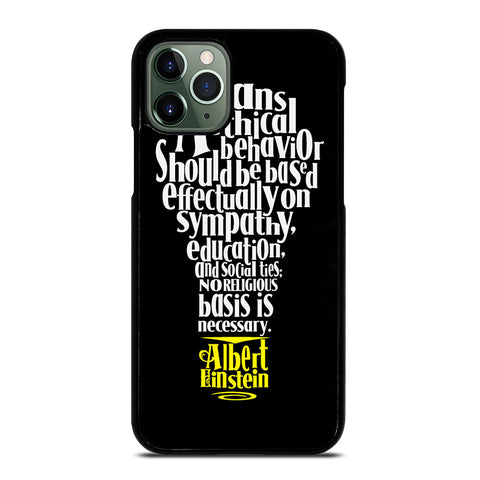 ALBERT EINSTEIN 'S THINKING iPhone 11 Pro Max Case