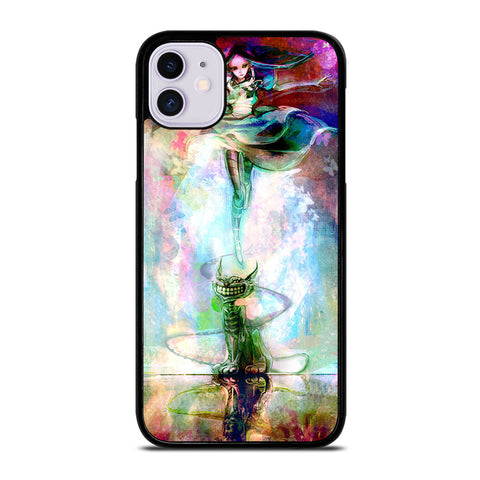 ALICE IN WONDERLAND PAINT iPhone 11 Case