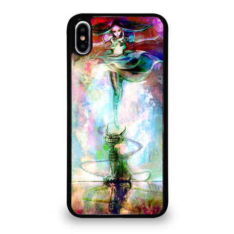 ALICE IN WONDERLAND PAINT iPhone XS Max Case