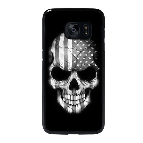 AMERICAN FLAG PUNISHER SKUL Samsung Galaxy S7 Edge Case