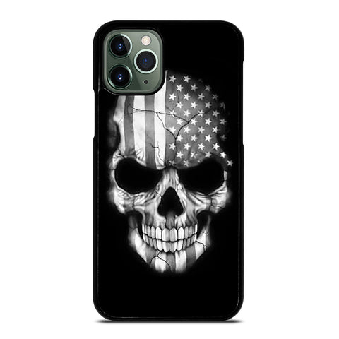 AMERICAN FLAG PUNISHER SKUL iPhone 11 Pro Max Case