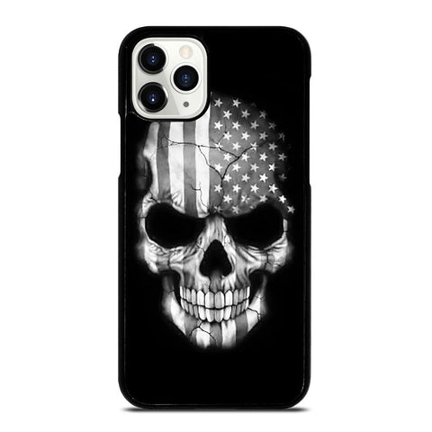 AMERICAN FLAG PUNISHER SKUL iPhone 11 Pro Case