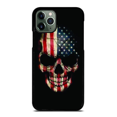 AMERICAN FLAG SKUL iPhone 11 Pro Max Case
