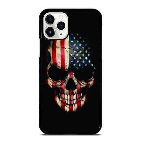 AMERICAN FLAG SKUL iPhone 11 Pro Case
