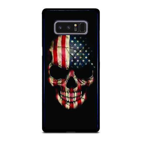 AMERICAN FLAG SKUL Samsung Galaxy Note 8 Case