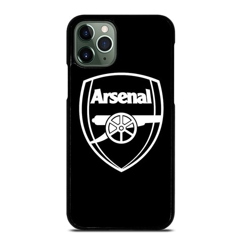 ARSENAL BLACK LOGO iPhone 11 Pro Max Case