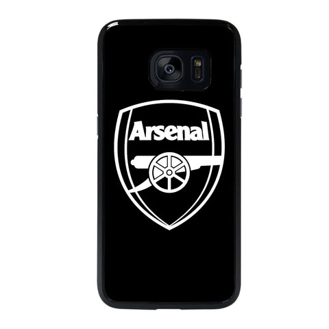 ARSENAL BLACK LOGO Samsung Galaxy S7 Edge Case