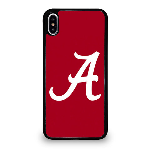 A FOR ALABAMA CRIMSON TIDE iPhone XS Max Case