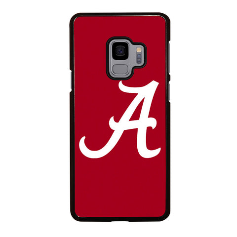 A FOR ALABAMA CRIMSON TIDE Samsung Galaxy S9 Case