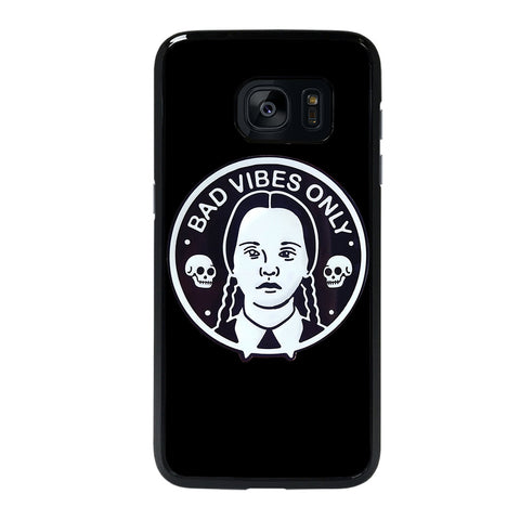 BAD VIBES ONLY WEDNESDAY ADDAMS Samsung Galaxy S7 Edge Case