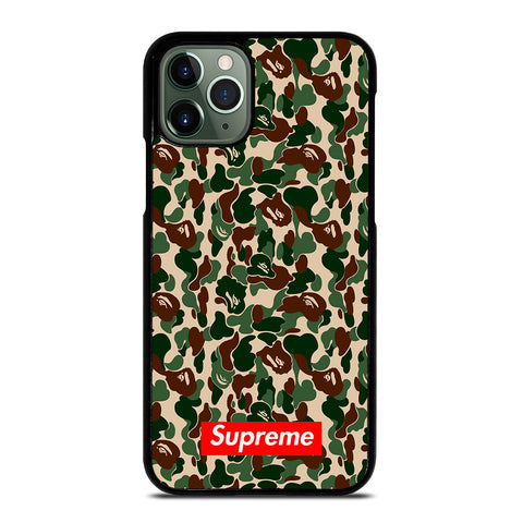 BAPE BATHING APE SUPREME iPhone 11 Pro Max Case