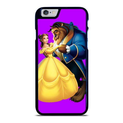 BEAUTY AND THE BEAST ROMANCE DANCING CARTOON iPhone 6 / 6S Case