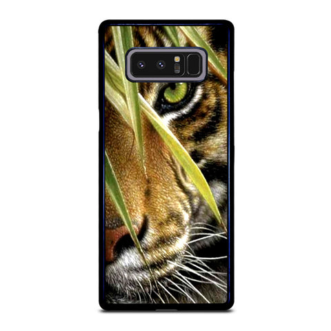 BENGAL TIGER IN A HALF FACE Samsung Galaxy Note 8 Case
