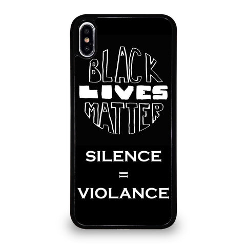BLACK LIVES MATTER ACTION iPhone XS Max Case