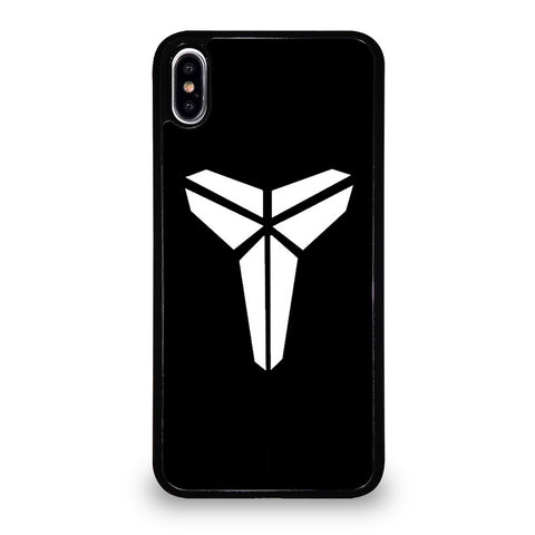 BLACK MAMBA LOGO BLACK iPhone XS Max Case