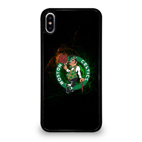 BOSTON CELTICS LOGO ART iPhone XS Max Case