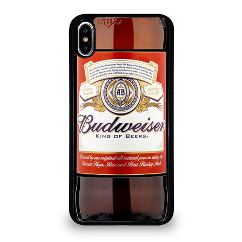 BUDWEISER BOTTLE iPhone XS Max Case