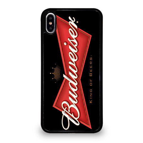 BUDWEISER KING OF BEERS iPhone XS Max Case