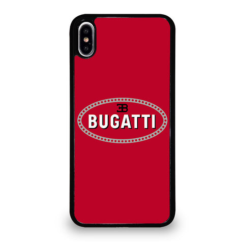 BUGATTI GREAT LOGO iPhone XS Max Case