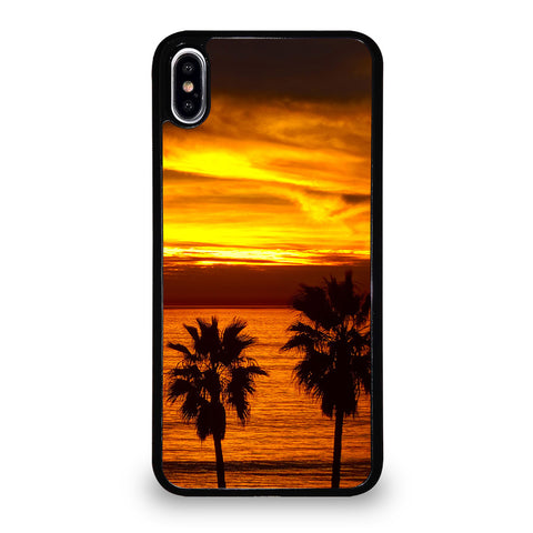 CALI CALIFORNIA COASTAL BEACH iPhone XS Max Case