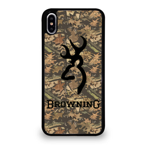 CAMO BROWNING CASE iPhone XS Max Case