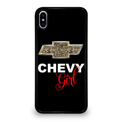 CAMO CHEVY GIRL iPhone XS Max Case